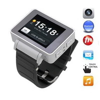 2012 smart bluetooth e-book reading qq fashion looply handwritten male Women watch mobile phone