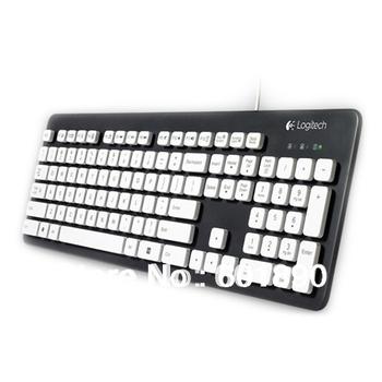Logitech Washable Keyboard Durable Clean Easy Laser Printer UV Coated Keys K310 Free shipping wholesale # 160315
