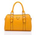 autumn and winter new handbag crocodile pattern handbag Korean genuine leather bag shoulder bag big bag