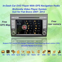 2007- 2012 Fiat Bravo Car DVD Player ,with GPS Navi,Multimedia Video Radio Player system+Free Camera+Free GPS Map!!!