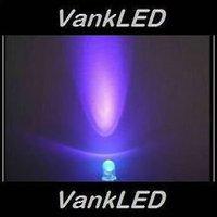 1000pcs New 5mm Round Ultra Bright UV Purple LED Lamp