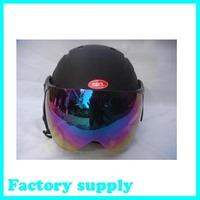 2012 hot sale ABS five color factory supply adult ski open face helmet skateboarding skiing helmets
