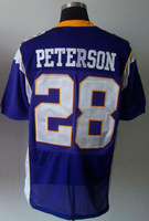 New Style Minnesota #28 Adrian Peterson Football Elite Jersey Fast & Free Shipping Stitched Numbers
