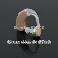 cheap Behind the EAR Sound Voice Amplifier Deaf Hearing Aid sale F-138