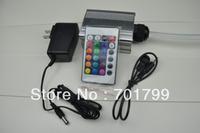 5w led fiber light source,with 24key IR remote controller