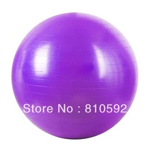 China thickening 85cm yoga ball fitness ball with pump and repair glue 6 colors Free shipping(China (Mainland))