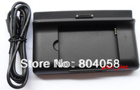 Free shipping wholesale New 3 IN 1 USB Cradle Sync Battery Charger Dock+ USB Cable For Dell Streak Mini 5