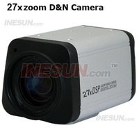 650TVL CCD CCTV 27X Varifocal Zoom Camera Auto Focus+RS485 Camera