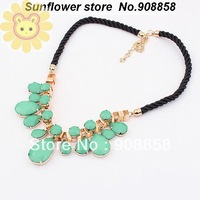 Min.order is $10 (mix order) Fashion Design Water-drop Women Necklace Rope Fashion Jewelry