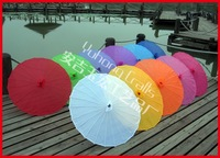 50pcs/lot free shipping traditional Chinese silk parasol,wedding umbrella