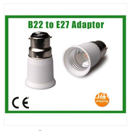 Free-Shipping-10pcs-lot-B22-to-E27-LED-Halogen-CFL-Light-Bulb-Lamp