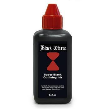 Pro 8.5oz Black Time Super Black Tattoo Outlining Ink