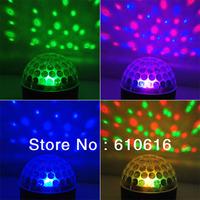 NEW LED Crystal Ball Magic LED Effect Light DMX DJ Stage Lighting
