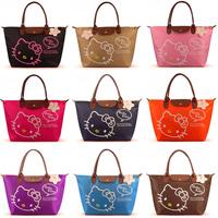 2013 Hot sale bags High quality fashion handbag women's totes Hello kitty shopping bag large size Cute shoulder bags