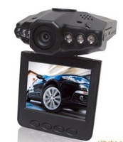 "Factory price!hot selling!Car DVR Camera H198 2.5"" Color Screen 270 Rotating Mobile Detection-Retail Package,Free Shipping"