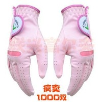 2013 Hot sale High Quality Golf Gloves Female Gloves Sports Products Fashion gloves Protect the Hands Free shipping