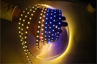 DHL free shipping 25m/lot ws2811 individually addressable digital led strip, WS2811IC 60pcs IC/m, SMD5050 60LED/m,
