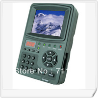 "NEW KPT 968G  DVB-S/S2 HD 3.5 ""LCD satellite signal finders + Free Shipping + satellite finders meter"