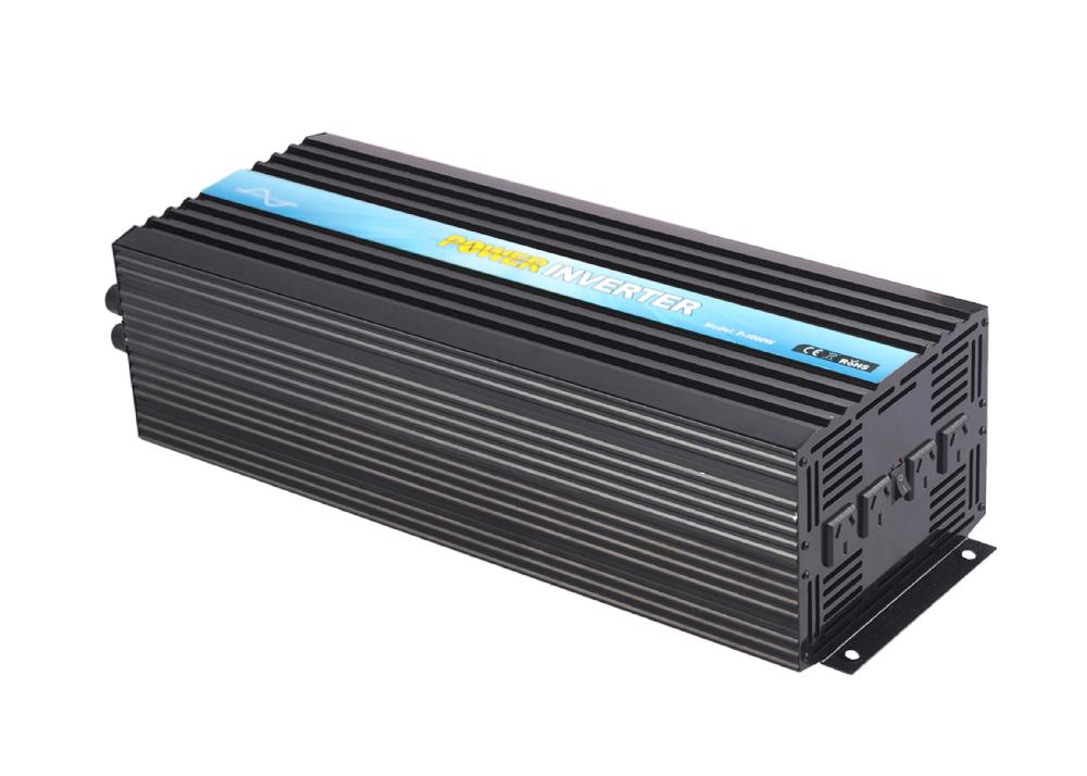 Car Inverter, CE&SGS&ROHS Approved, DC48v-AC230v 5000W/5KW 50Hz/60Hz Pure Sine Wave Power Inverter, Solar Inverter(China (Mainland))