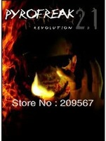 Pyrofreak 2.1 Trick/Magic Trick/ Electronic Magic/ Close up Magic Free shipping