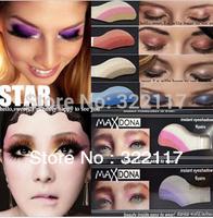 Free shipping  ,Newest 51 colrs 120pcs=10box Instant Eyeshadow sticker, magic eyes tattoo ,eye sticker