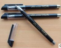 2014-hot Manufacturers selling neutral pen wholesale, black rod top grade neutral pen, LOGO printing