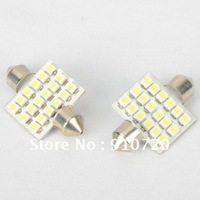 Mail Free + 2PCs G0042 1210 18 LED Double Peak Car Reading Light 1.3W 12V 60 Lm 8000K LED White Light