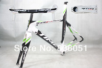 package sale!!discount price!!in stock!!Time RXRS Ulteam carbon frame,road bicycle racing frameset+handlebar+stem. T9
