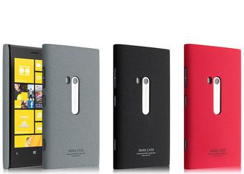 Genuine Brand New IMAK Cowboy Quicksand Shell Ultra-thin Skin Case Cover Back For Nokia Lumia 920