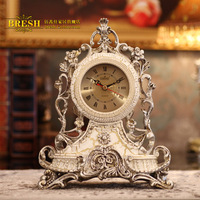 Fashion Classical Clock Luxury Decoration 745ws White Desk Clock