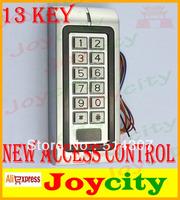 13KEY New Access Control RFID Reader Keypad access control system Free shipping High quality Joycity