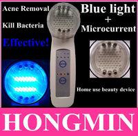 LED blue light acne lamp ptd bio lamp pimple remover hand held acne treatment unit