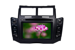 Special Car DVD Player For Toyota-Yaris With GPS, Bluetooth, IPod, TV, Automatic back sight function for car backing(China (Mainland))
