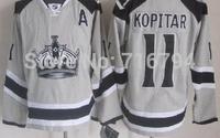 Wholesale LOS ANGELES KINGS #11 Anze Kopitar nhl hockey jersey china,free shipping,Embroidery logo,mix order
