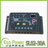 New 30A 12V 24V Auto intelligence Solar Charge Controller Regulators