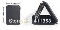 "Singapore postal Free shipping 7""Tablet Speaker Case Sound Box Bag For tablet VIA 8650 8850 Tblet PC Speaker Bag Cover Case+gift"