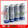 BTY Home Ni-MH AA 2500mAh 1.2V Rechargeable Battery BATT0030 Free shipping 1set
