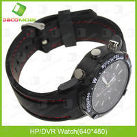 Unique Design 4GB Memory Mini Watch Camera DVR 10PCS/Lot  China Post Free Shipping