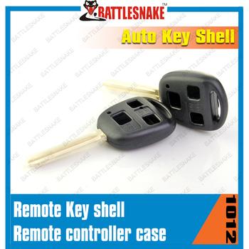 Free shipping 20 pcs/lot Remote car key shell 2 button car key case for  Toyota  auto car key shell