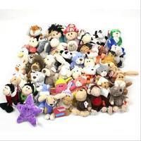 Plush toy nici bandanas sheep key pendant toy doll