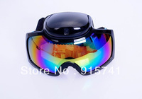 2012 New Style 720p HD camera sunglasse ski camera goggles hidden pinhole camera with remote control FreeShiping China Post