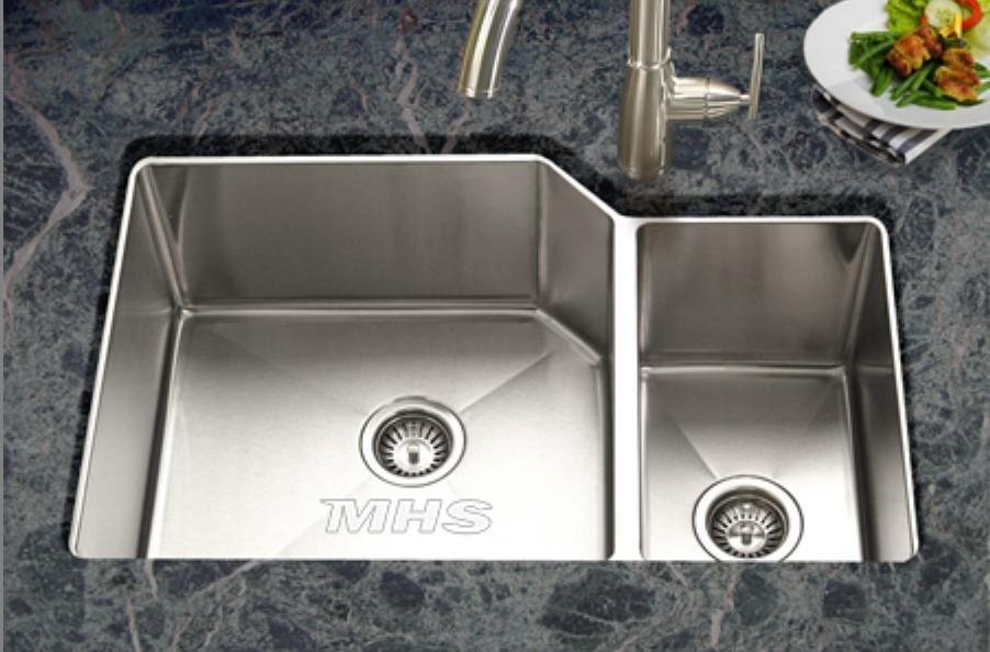 Corner Double Sink : Corner Double Bowl Kitchen Sink Promotion-Shop for Promotional Corner ...