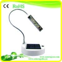 high bright 4 LEDs solar reading lamp Free Shipping