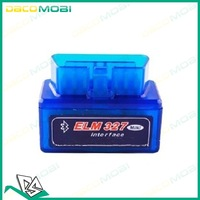 OBD2 OBD-II Super Mini ELM327 V1.5 Bluetooth Car  Diagnostic Scanner Tool 5PCS/Lot China Post Free Shipping