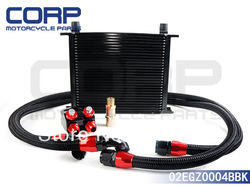 30 ROW OIL COOLER KIT TURBO /NA 240SX SILVIA SR20 S13 S14 S15 KA24 KA24DE SR(China (Mainland))
