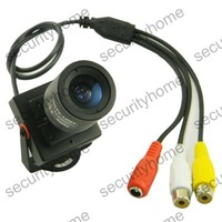 3.5-8mm Manual lens Sony HAD CCD 600TVL A/V Security Wired Color CCTV Camera MIC
