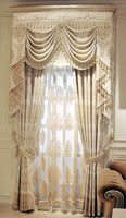 New high quality jacquard chenille curtain drapes blind living room, sitting room