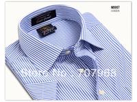 Free shipping new fashion mens Short Sleeve Casual Shirts! Cotten and big size XXXL men 's shirt,hotsale men 's clothes