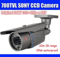 700TVL Waterproof IR CCTV Camera with Sony CCD & Effio-E, 20m IR Range, 6mm Lens, Outdoor 700TVL CCTV Camera