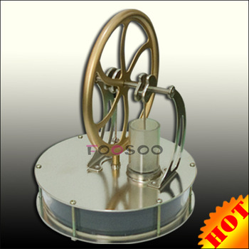 BRAND NEW LOW TEMPERATURE STIRLING ENGINE  FANCY GIFT EDUCATIONAL TOY DROVEN BY HOT WATER